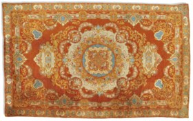 A LARGE LOUIS PHILIPPE SAVONNERIE CARPET