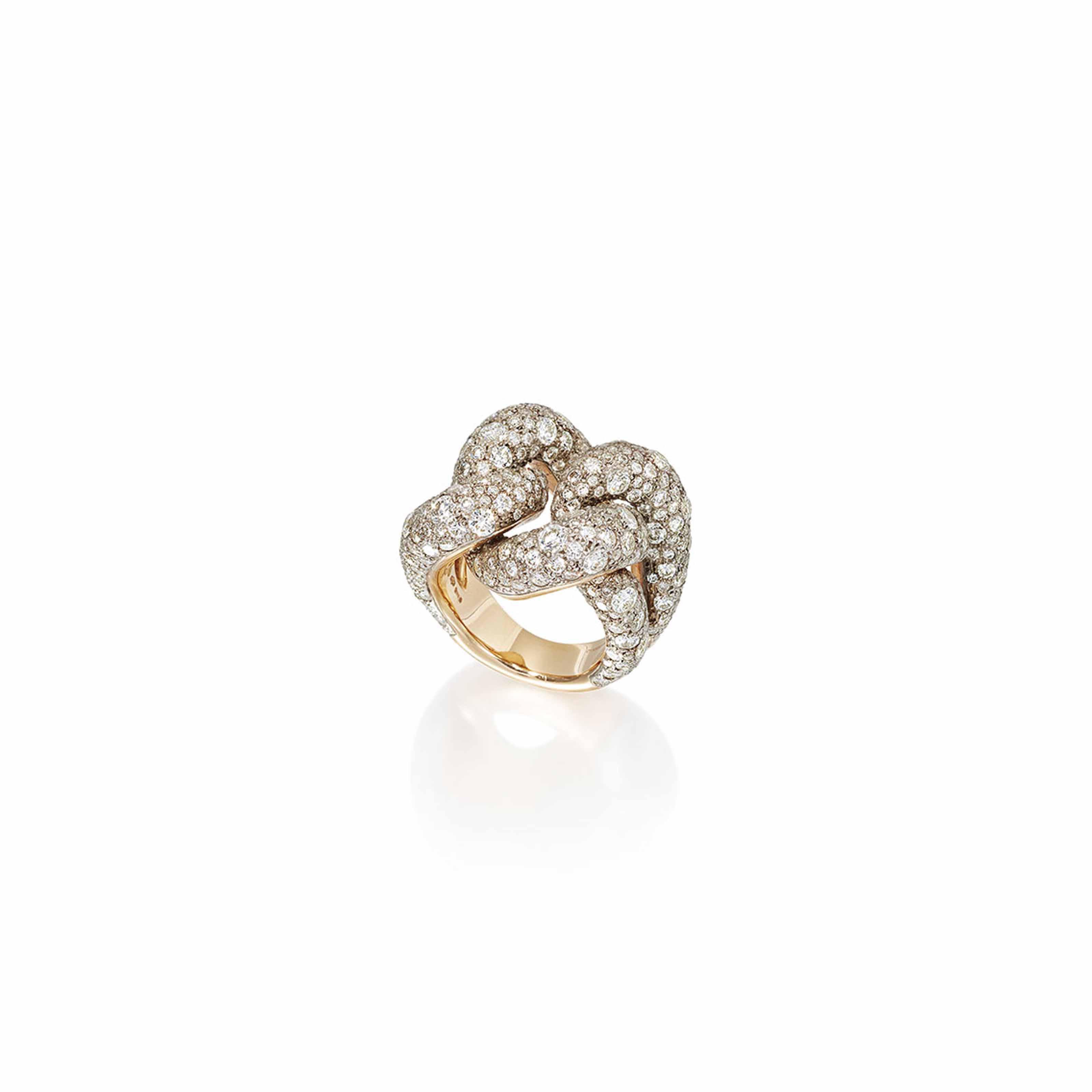DIAMOND 'TANGO' RING, POMELLATO