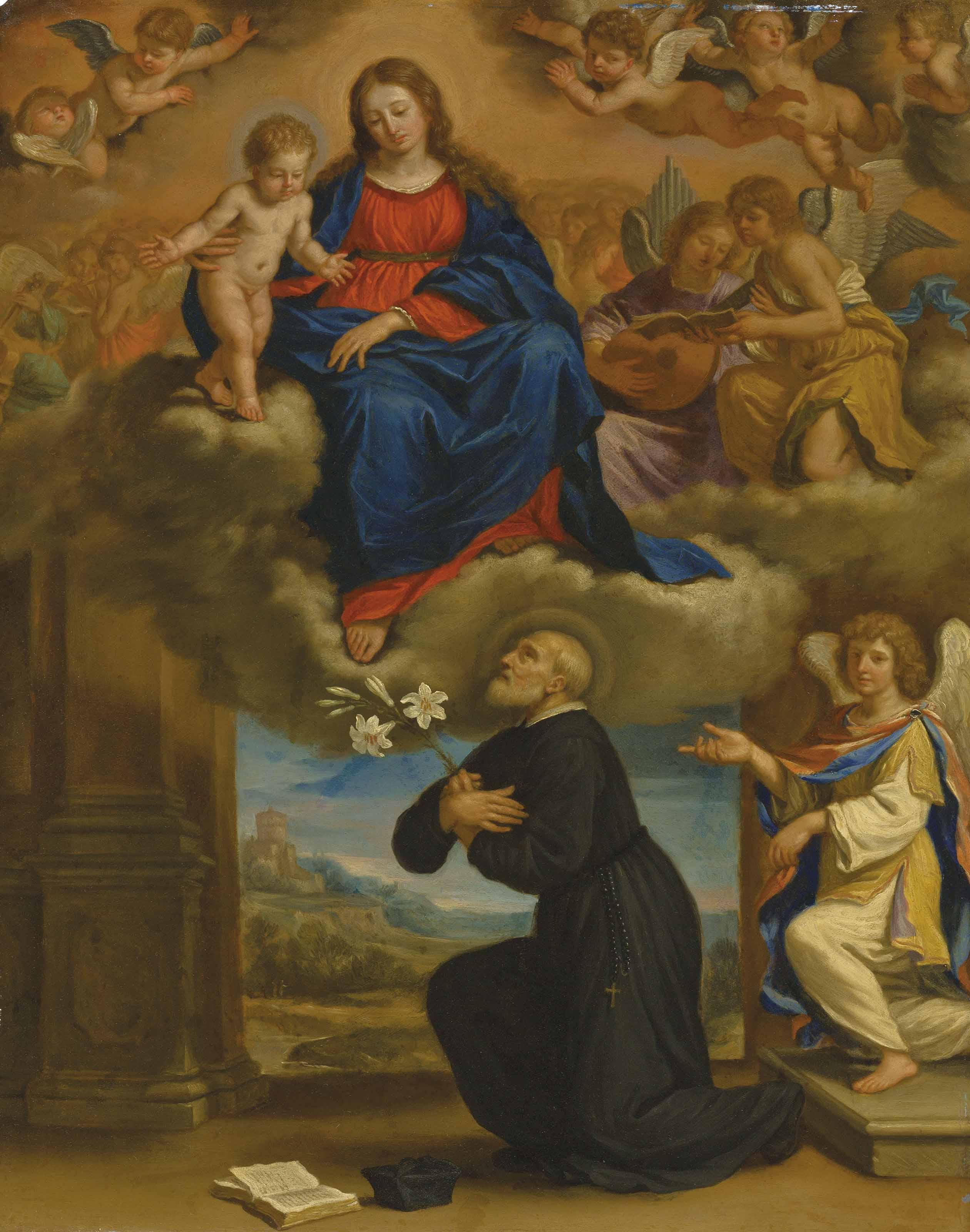 The Vision of Saint Filippo Neri