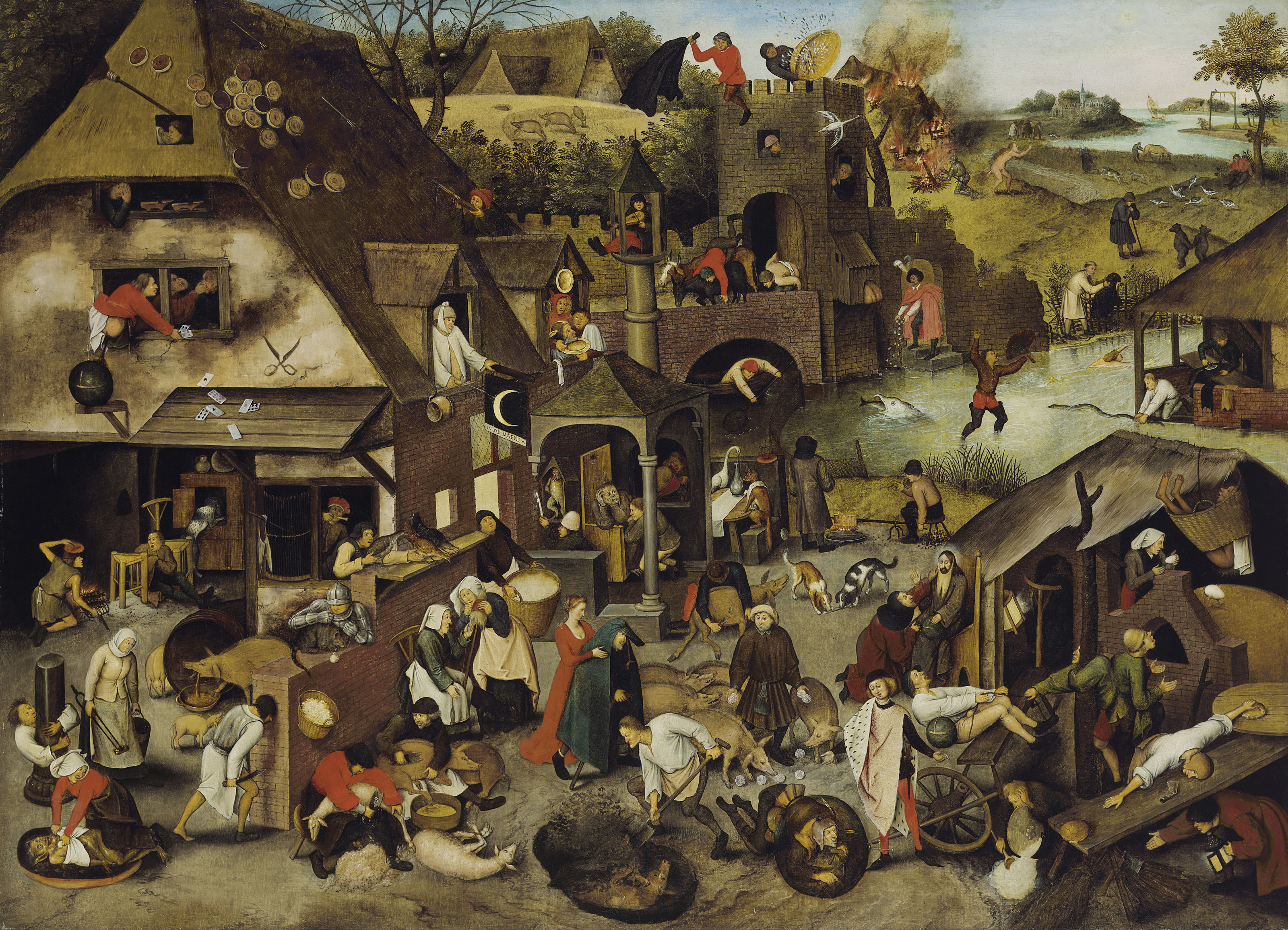 The Netherlandish Proverbs