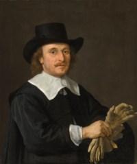 Portrait of a man, identified as Wijnand van Diest, half-length