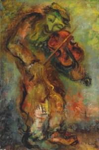 Le vieux violoniste