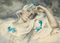 Portrait of Irene Klestova, the artist's wife