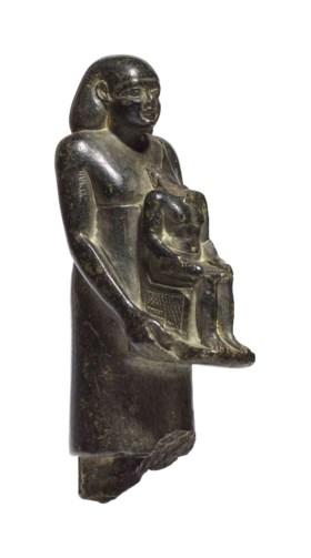 AN EGYPTIAN STEATITE THEOPHOROUS