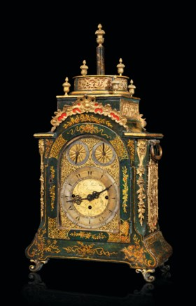 A MUSICAL TABLE CLOCK MADE FOR THE OTTOMAN MARKET