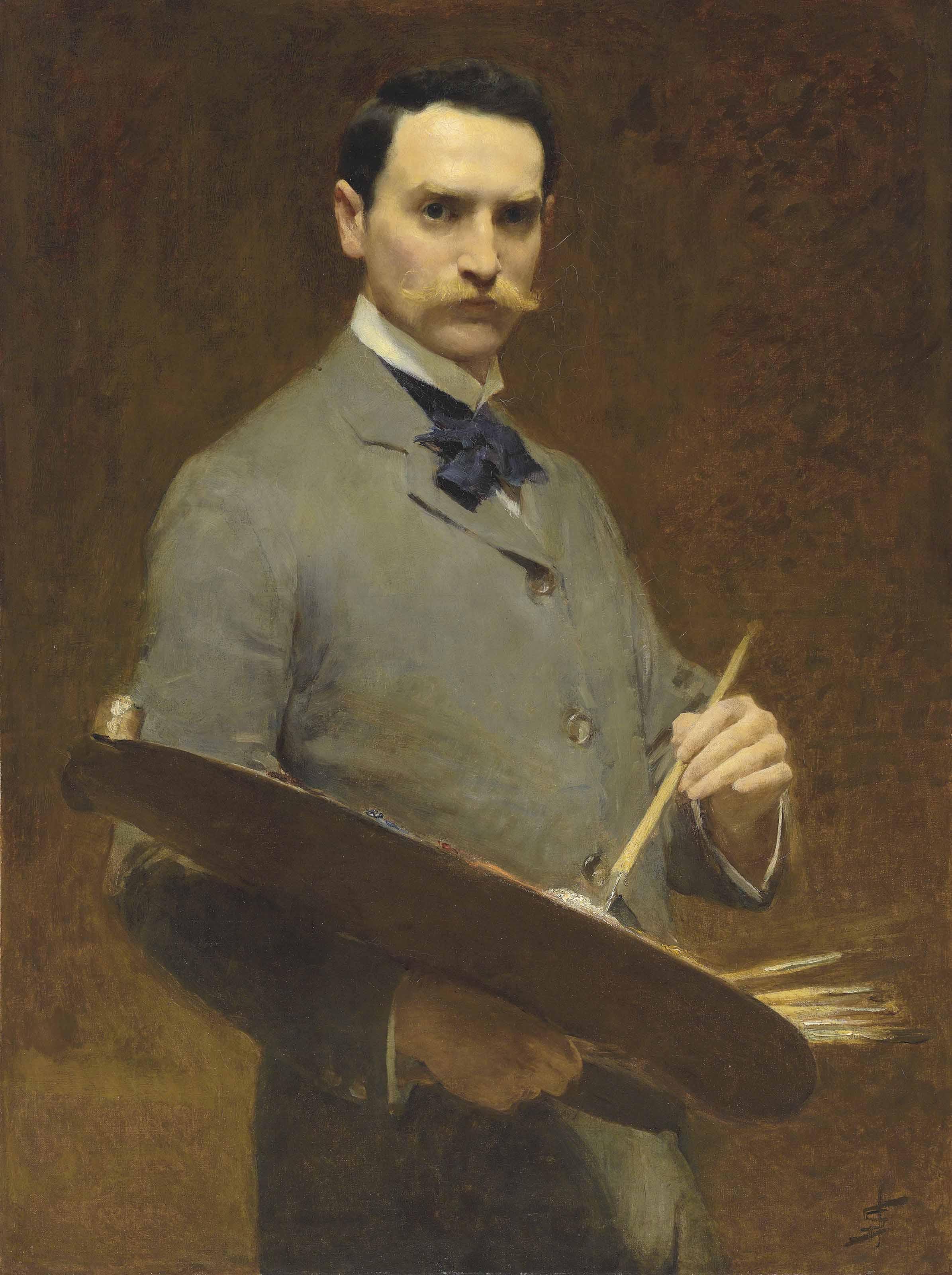 Self-portrait, circa 1896