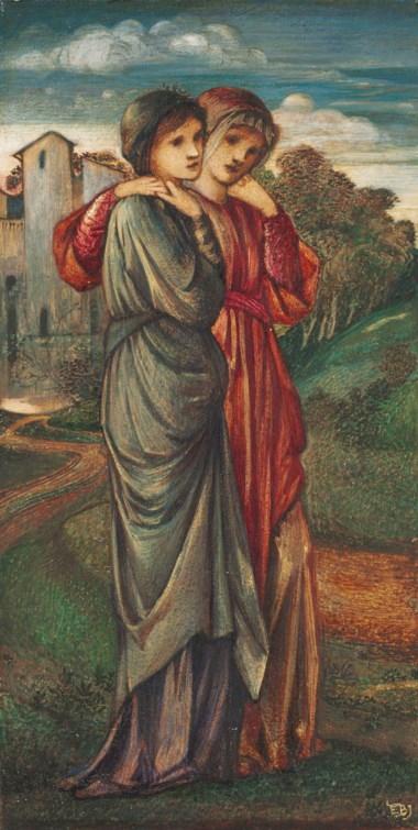 Sir Edward Coley Burne-Jones, Bt., A.R.A., R.W.S. (1833-1898), Love Disguised as Reason. 13⅝ x 7¼  in (34.6 x 18.5  cm). Sold for £162,500 on 11 December 2018 at Christie's in London