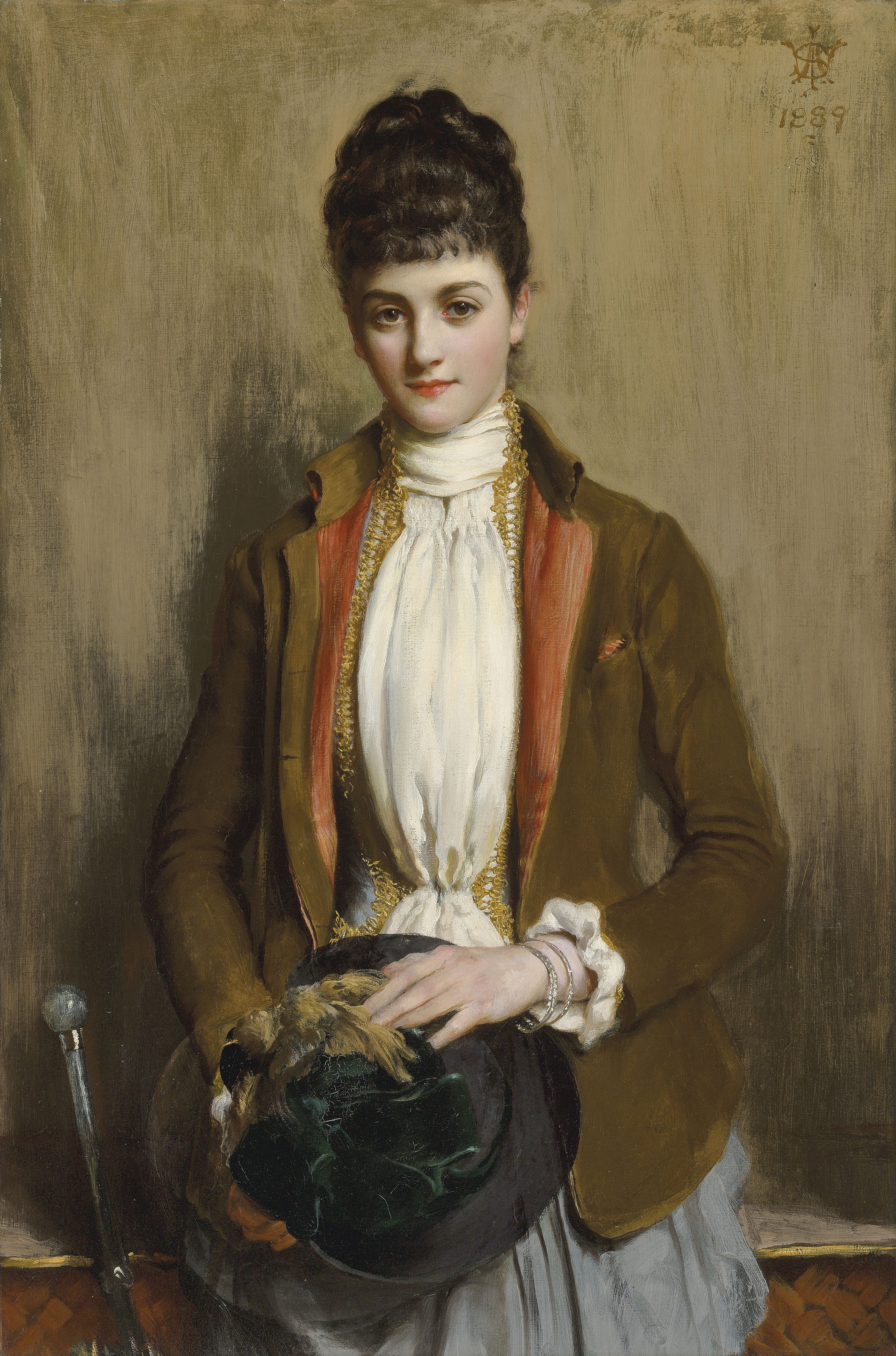 Portrait of Miss Dorothea Gwladys Tombs, later Lady Butler