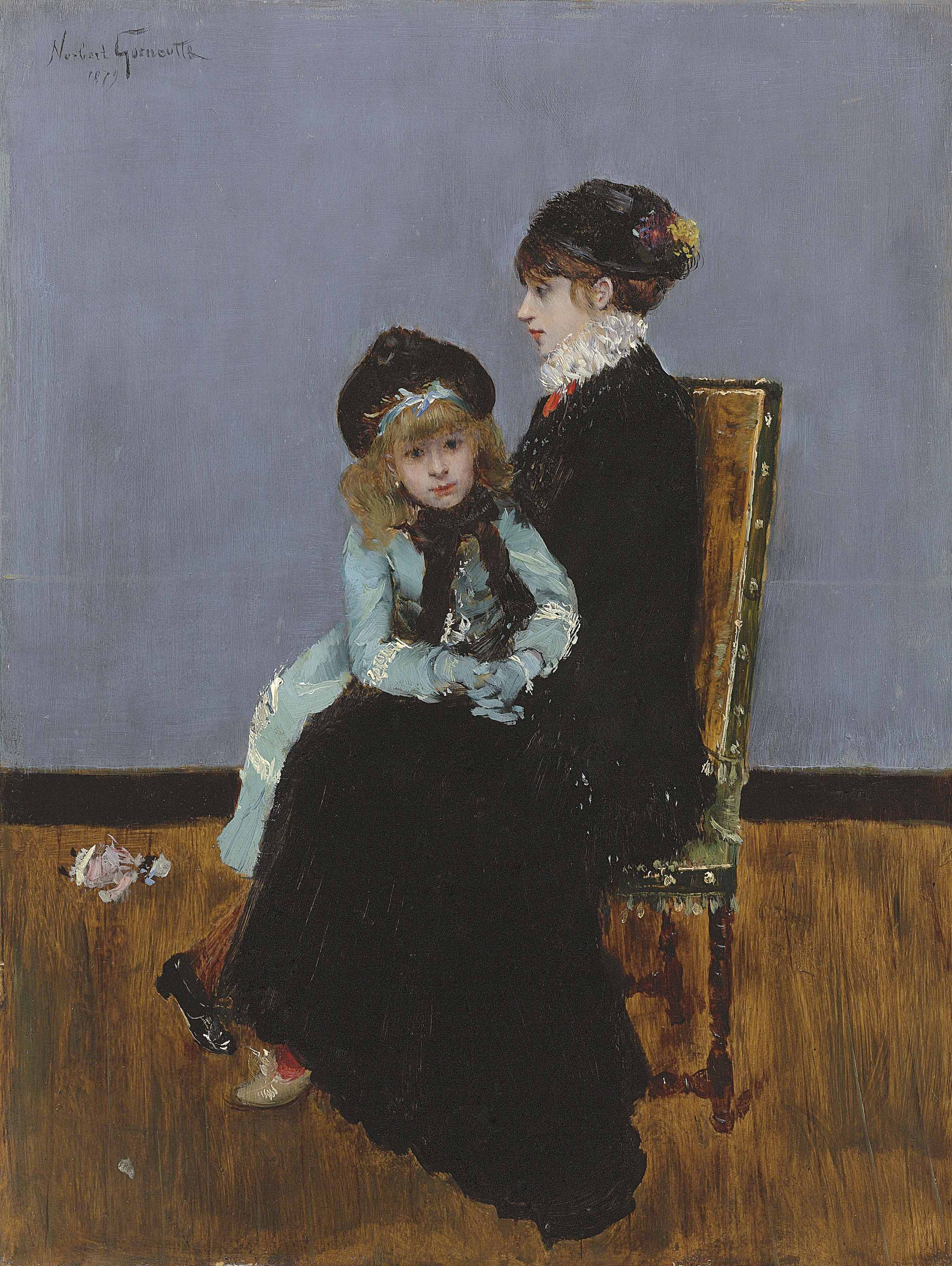 L'elegance: Mère et fille