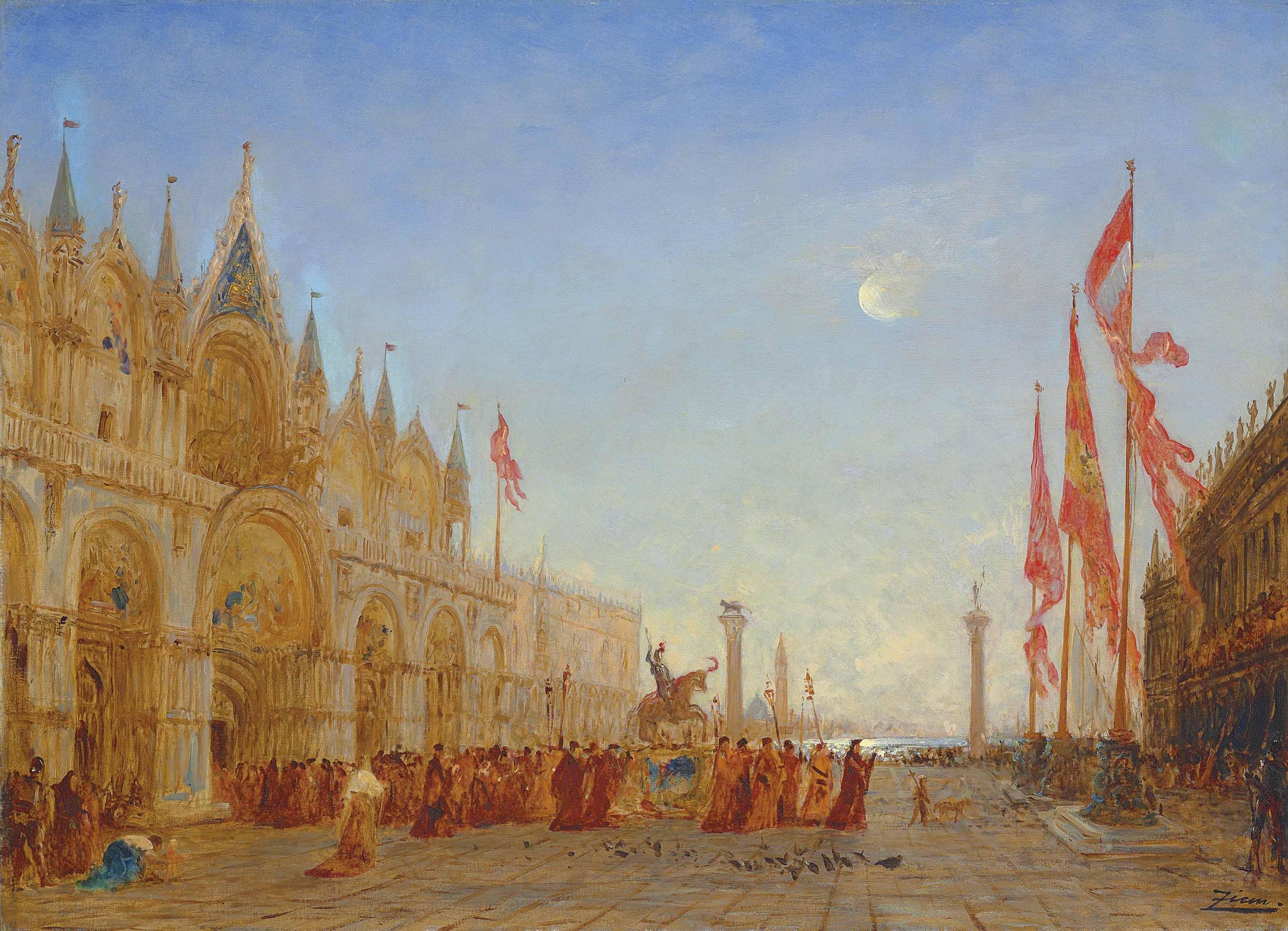 Le triomphe de Saint Georges Majeur