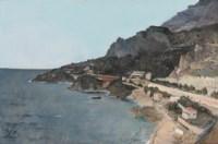 Cap D'ail, Vue prise de Palais du Prince de Monaco