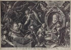 AEGIDIUS SADELER II (CIRCA 1570-1629) AFTER BARTHOLOMEUS SPRANGER (1546-1611)
