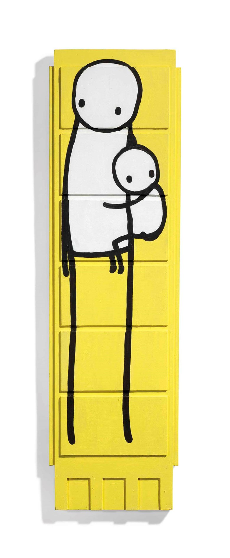Stik (b. 1979), Little Big Mother. 985 x 280 x 40  mm (overall).  Sold for £52,500 on 28 March 2018  at Christie's in London