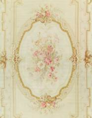 A FRENCH AUBUSSON CARPET