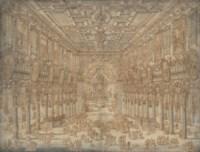 The interior of S. Maria in Aracoeli, Rome