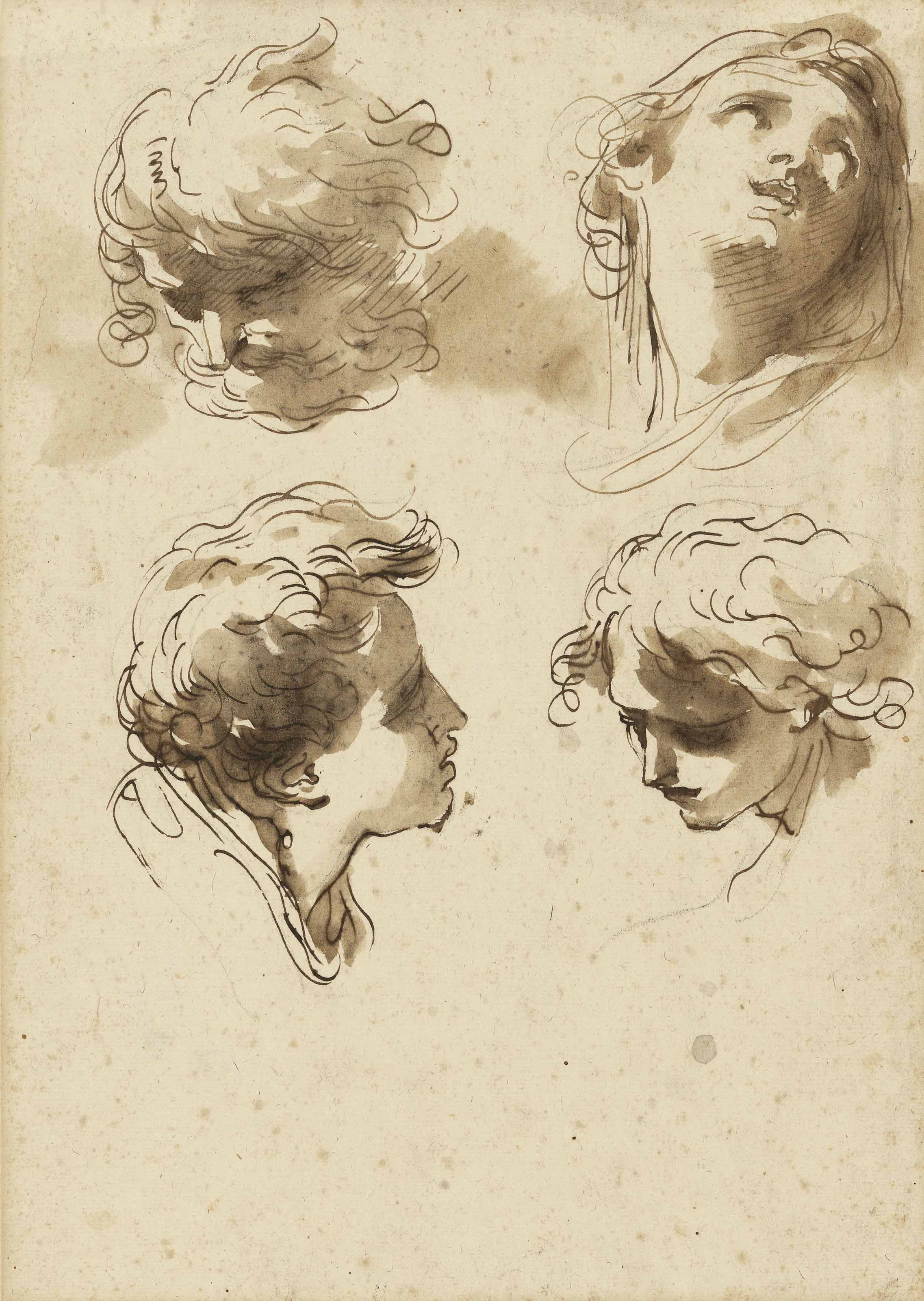 Four studies of heads