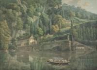 A view of Villa Pliniana, Lake Como