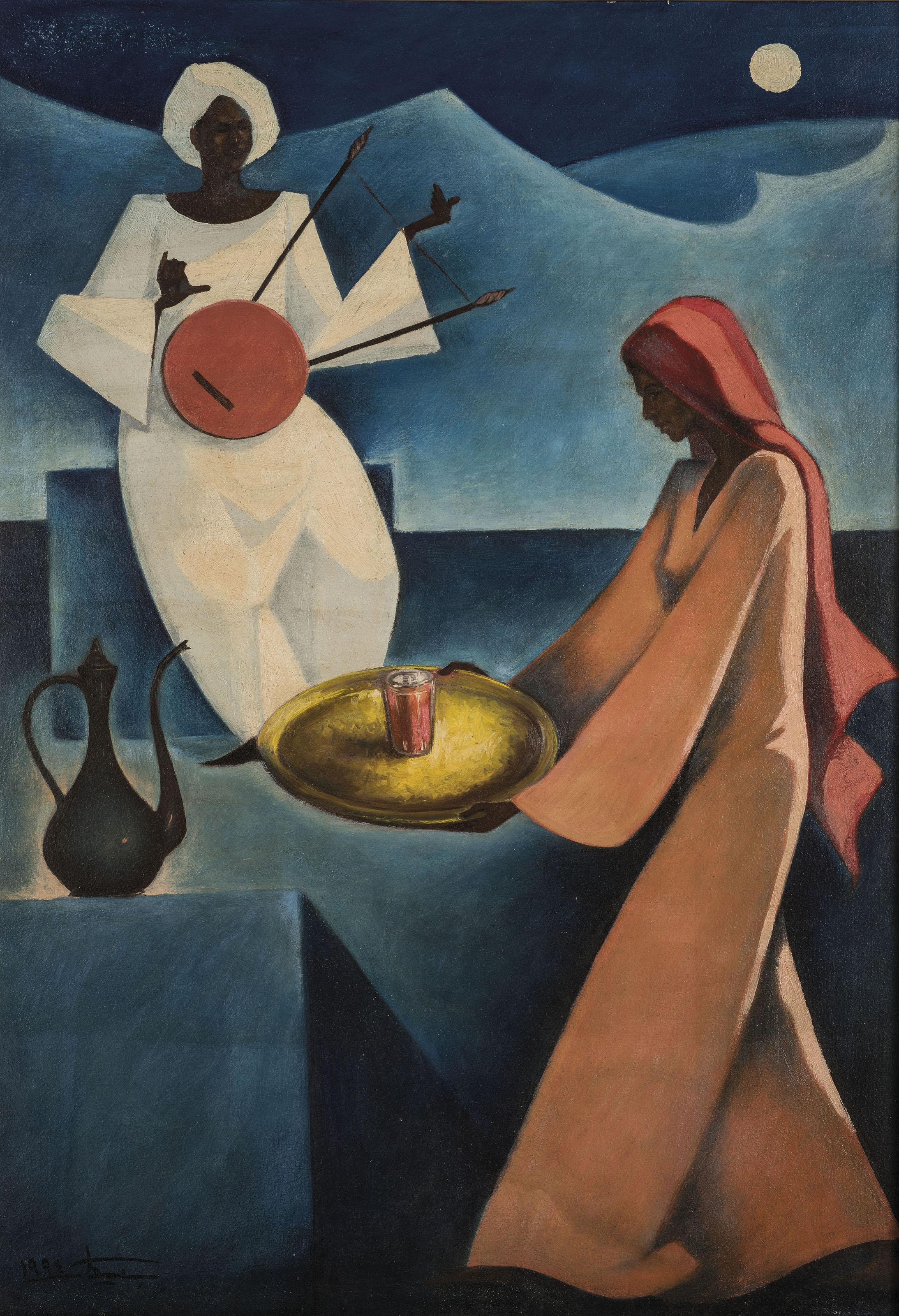Hussein Bicar (Egyptian, 1912-