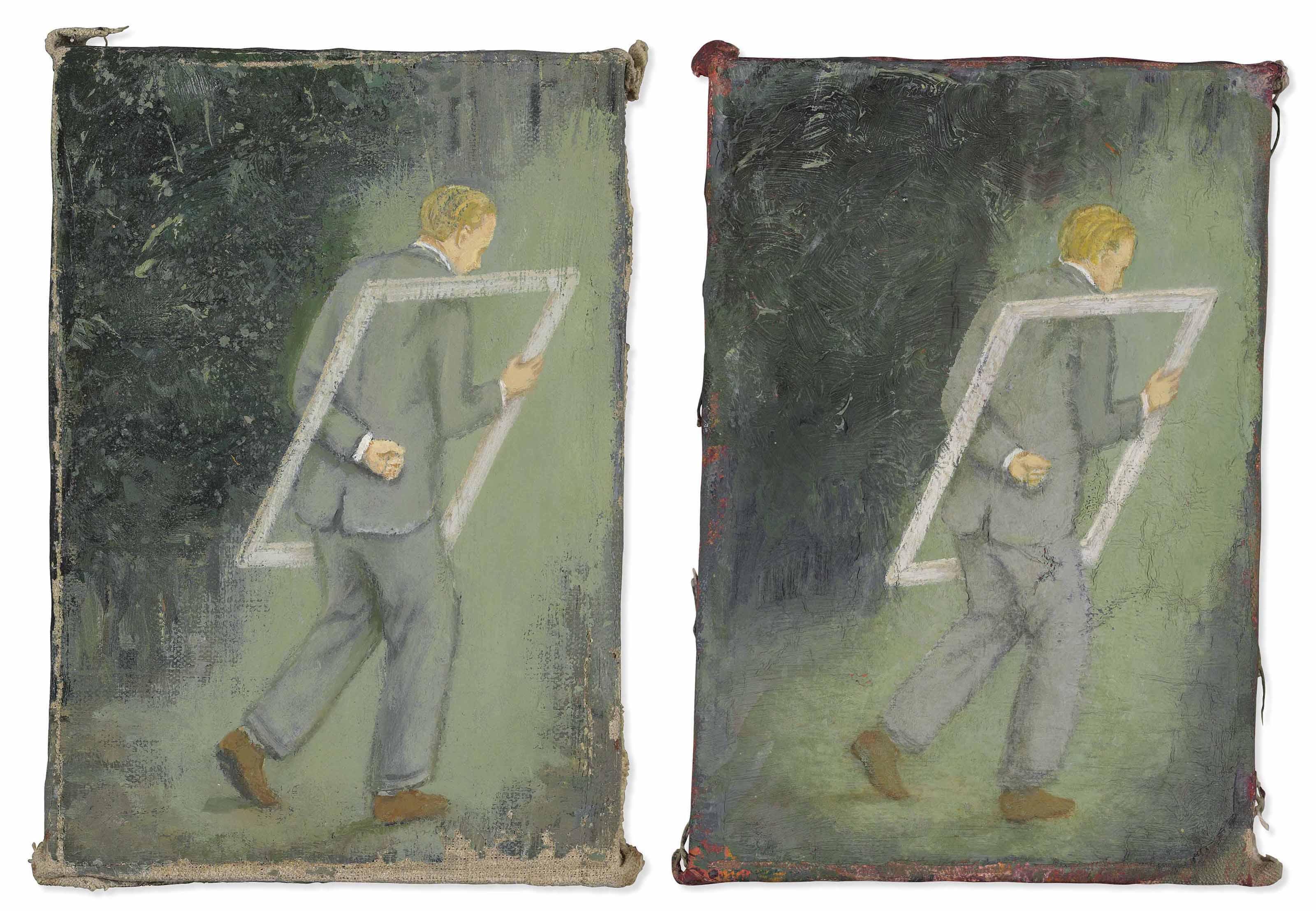 Déjà Vu (Walking a Painting)