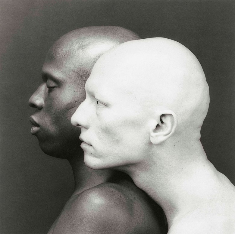 Robert Mapplethorpe (1946-1989), Ken Moody and Robert Sherman, 1984. Sheet 25⅝ x 21⅞  in (65 x 55.5  cm). Estimate £70,000-90,000. Offered in Photographs on 17 May at Christie's in London