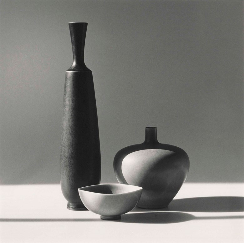 Robert Mapplethorpe (1946-1989), R M Glass Collection, 1984. Sheetflush mount 19⅝ x 15⅞  in (50 x 40.2  cm). Estimate £12,000-15,000. Offered in Photographs on 17 May at Christie's in London