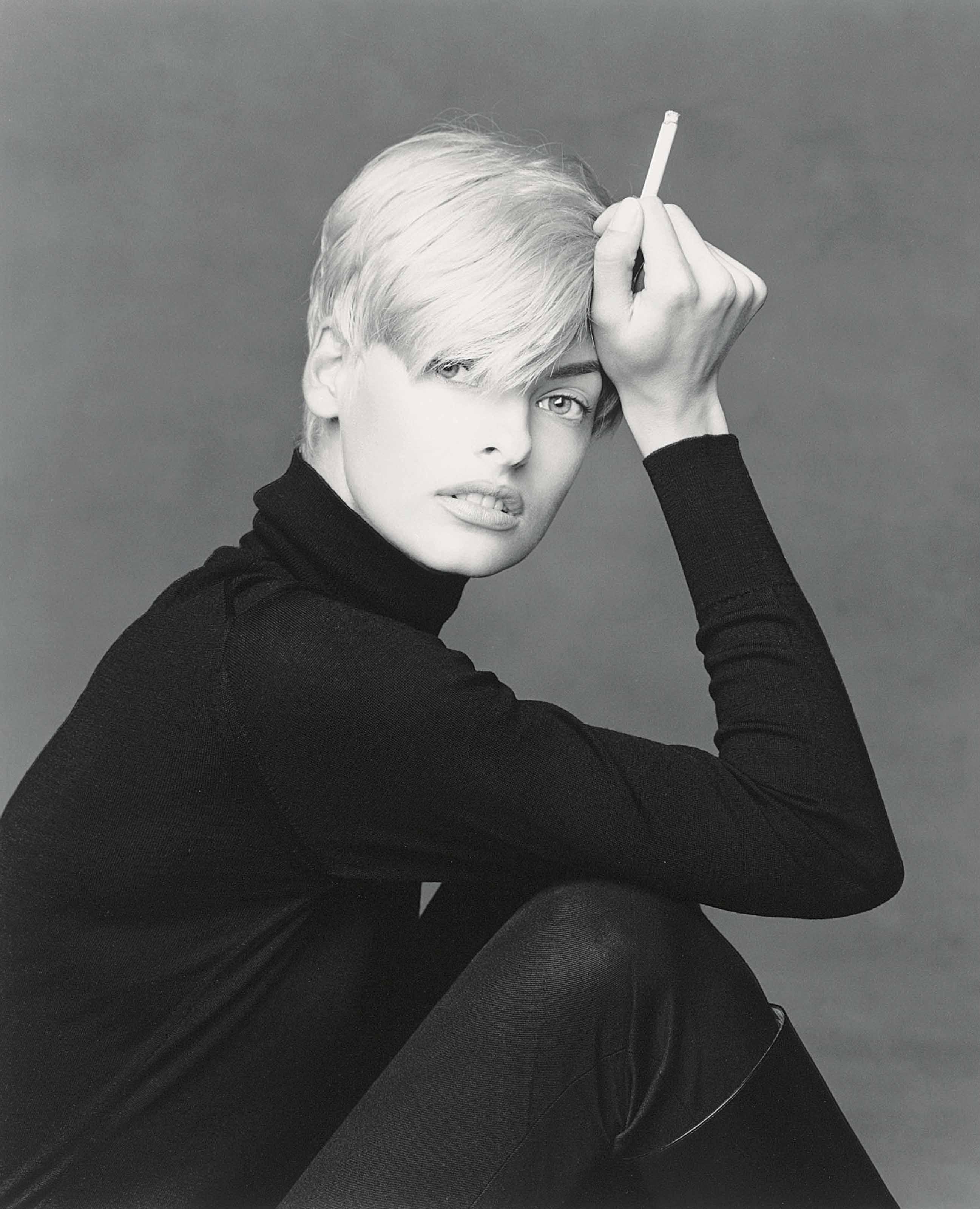 Linda, New York, 1990