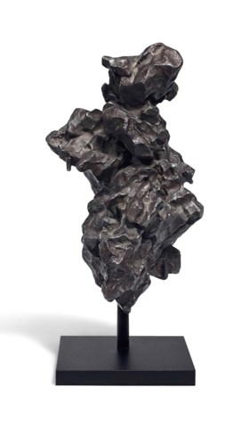 SIKHOTE ALIN METEORITE -- SCULPTURE FROM OUTER SPACE
