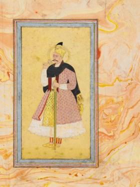 A PORTRAIT OF 'ABDULLAH QUTB SHAH (R1626-72)