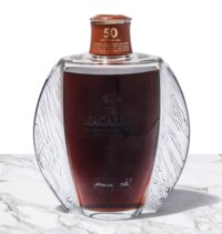 The Macallan 50 Year Old in Lalique