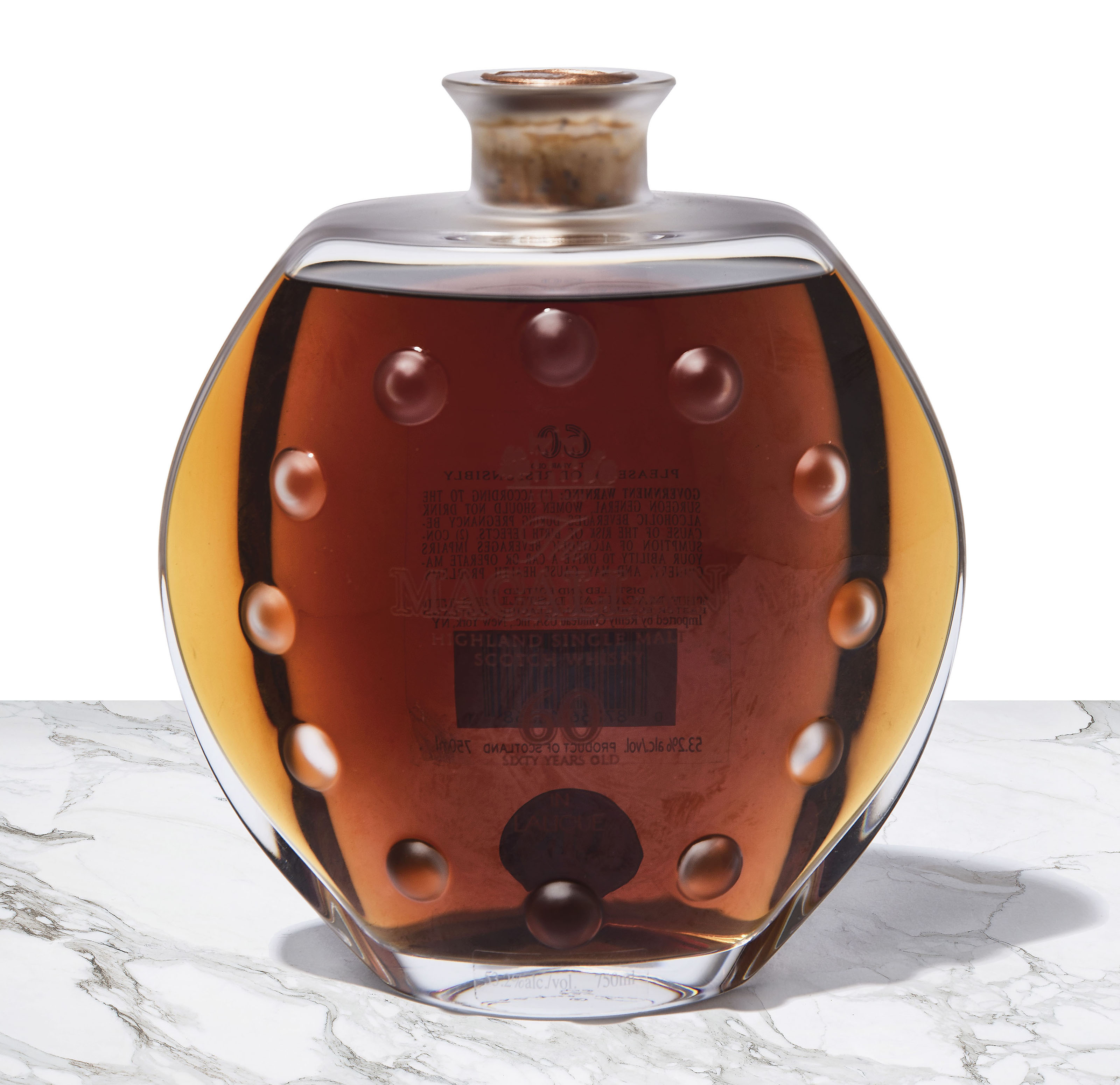 The Macallan 60 Year Old in Lalique