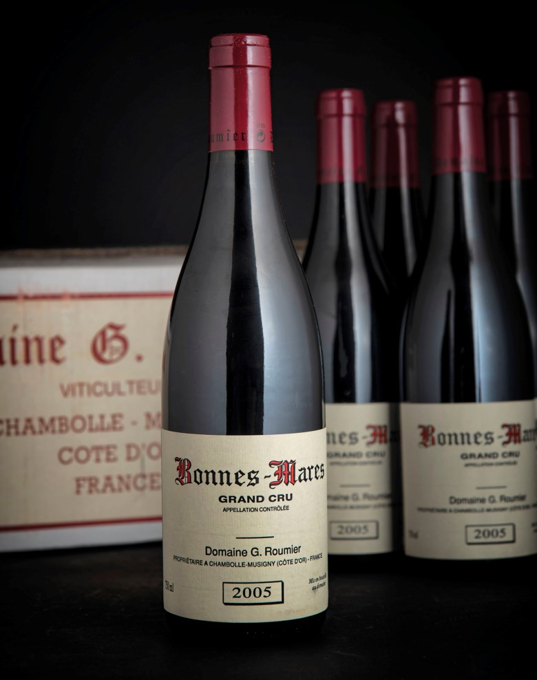 Georges Roumier, Bonnes-Mares 2005, 12 bottles per lot. Sold for £28,800 on 28-29 November 2018 at Christie's in London