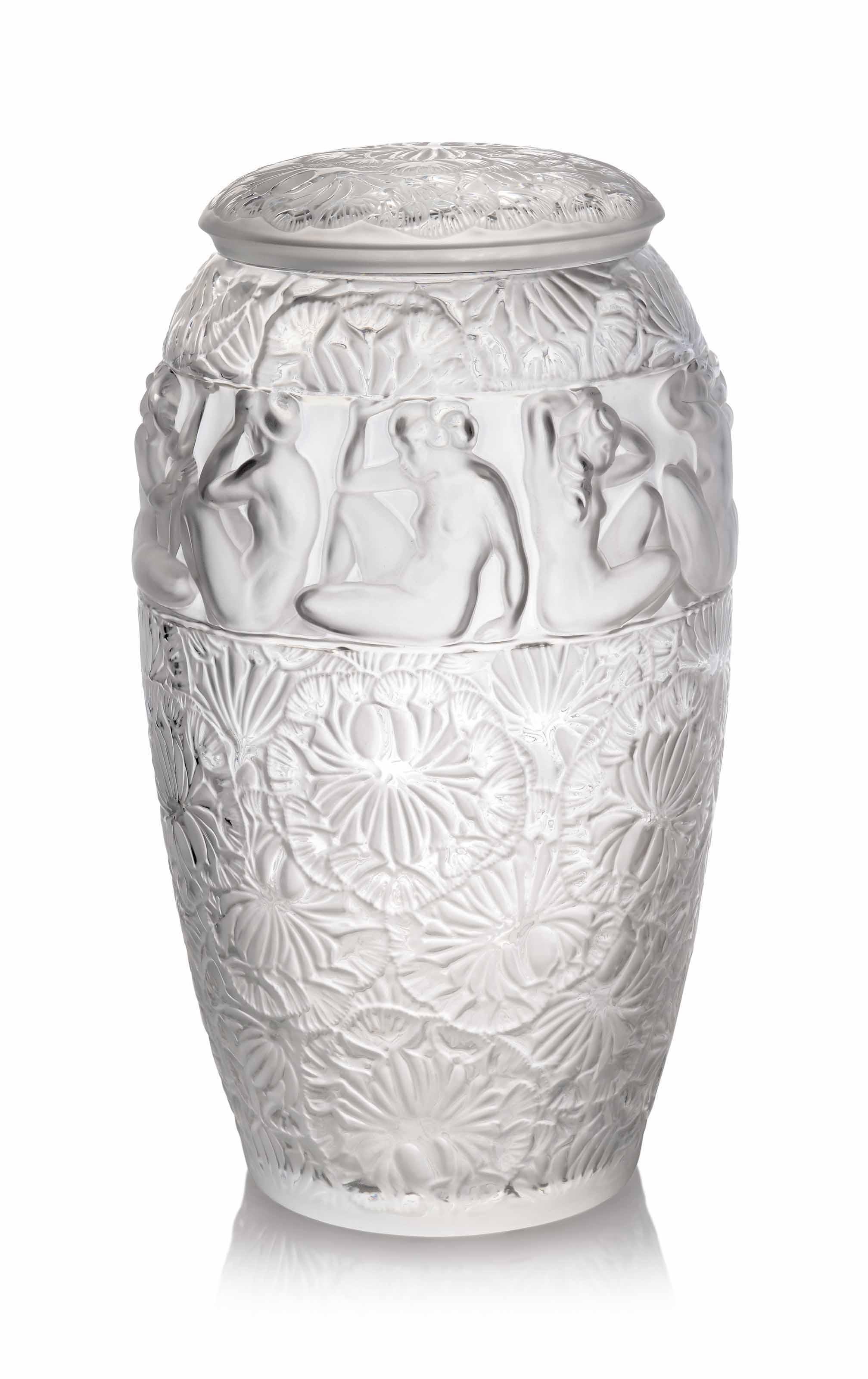 A Monumental Angélique Vase