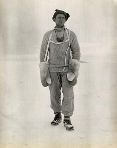 GRAN, Tryggve (1888-1980). Two