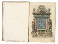 ORTELIUS, Abraham (1527-1598). Theatrum orbis terrarum. – Parergon. – Nomenclator ptolemaicus. Antwerp: Plantin Press, 1584.