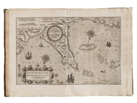 WAGHENAER, Lucas Jansszoon (1534-1598). Speculum nauticum su