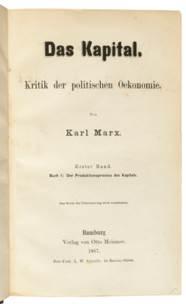 MARX, Karl (1818-1883). Das Ka