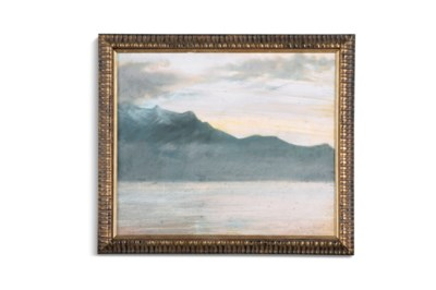 Georges victor hugo french 1868 1925 le verger and coucher de soleil christie 39 s - Soleil couchant victor hugo ...