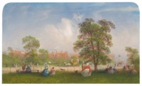 A View of Hyde Park, London