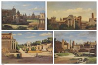 Five scenes from the Roman Forum