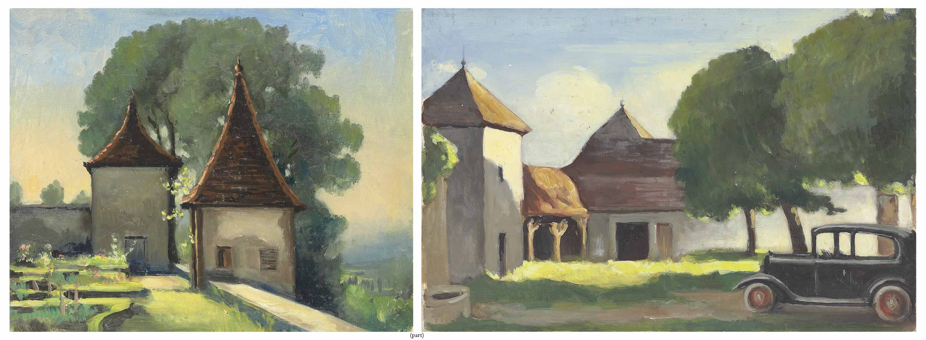 Five views of Manoir de Bugey and the surrounding area
