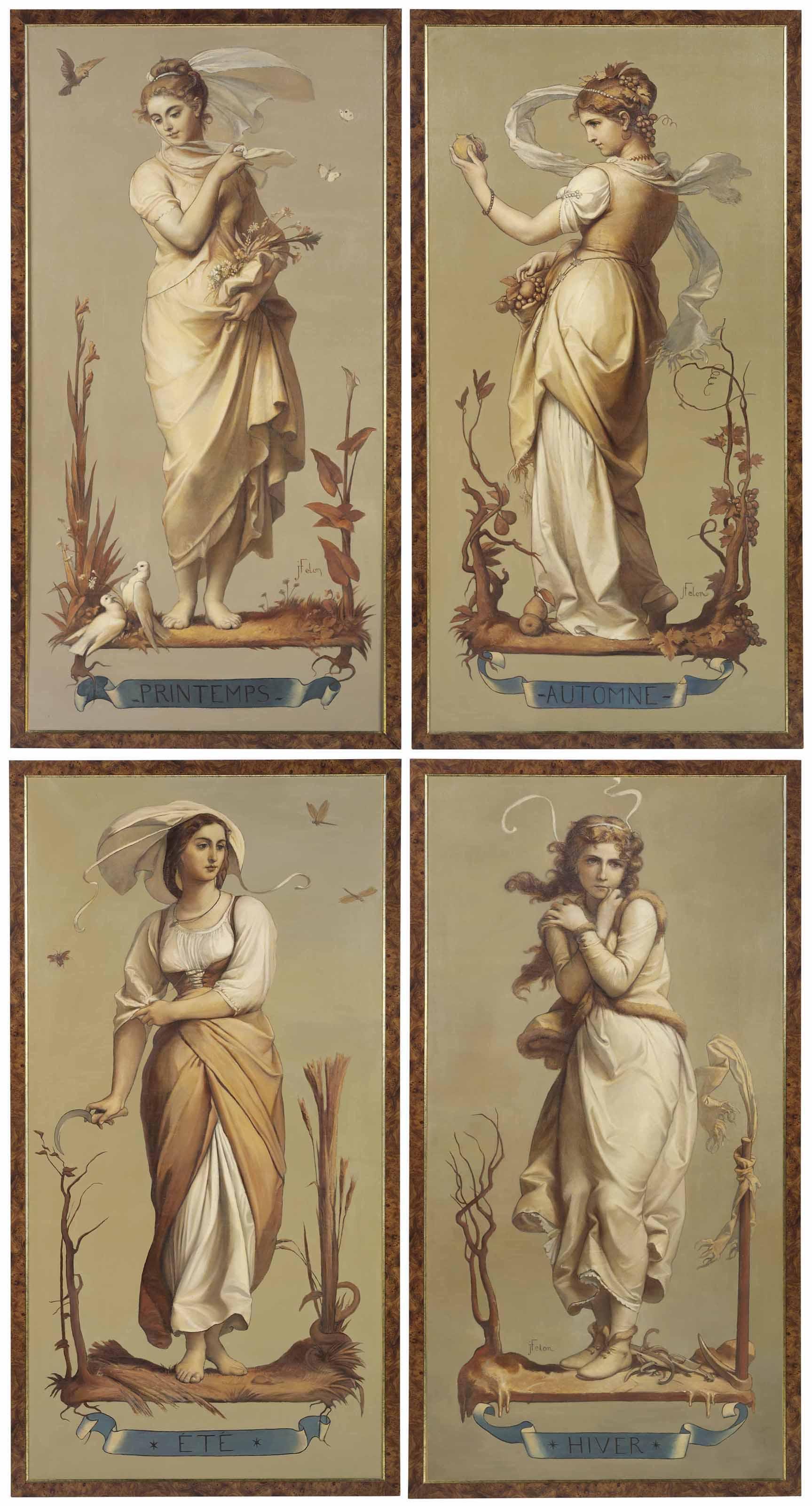 JOSEPH FELON (FRENCH, 1818-1896)