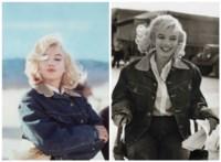 Marilyn Monroe Blue Jean Jacket/ Pyramid lake, Nevada, 1960