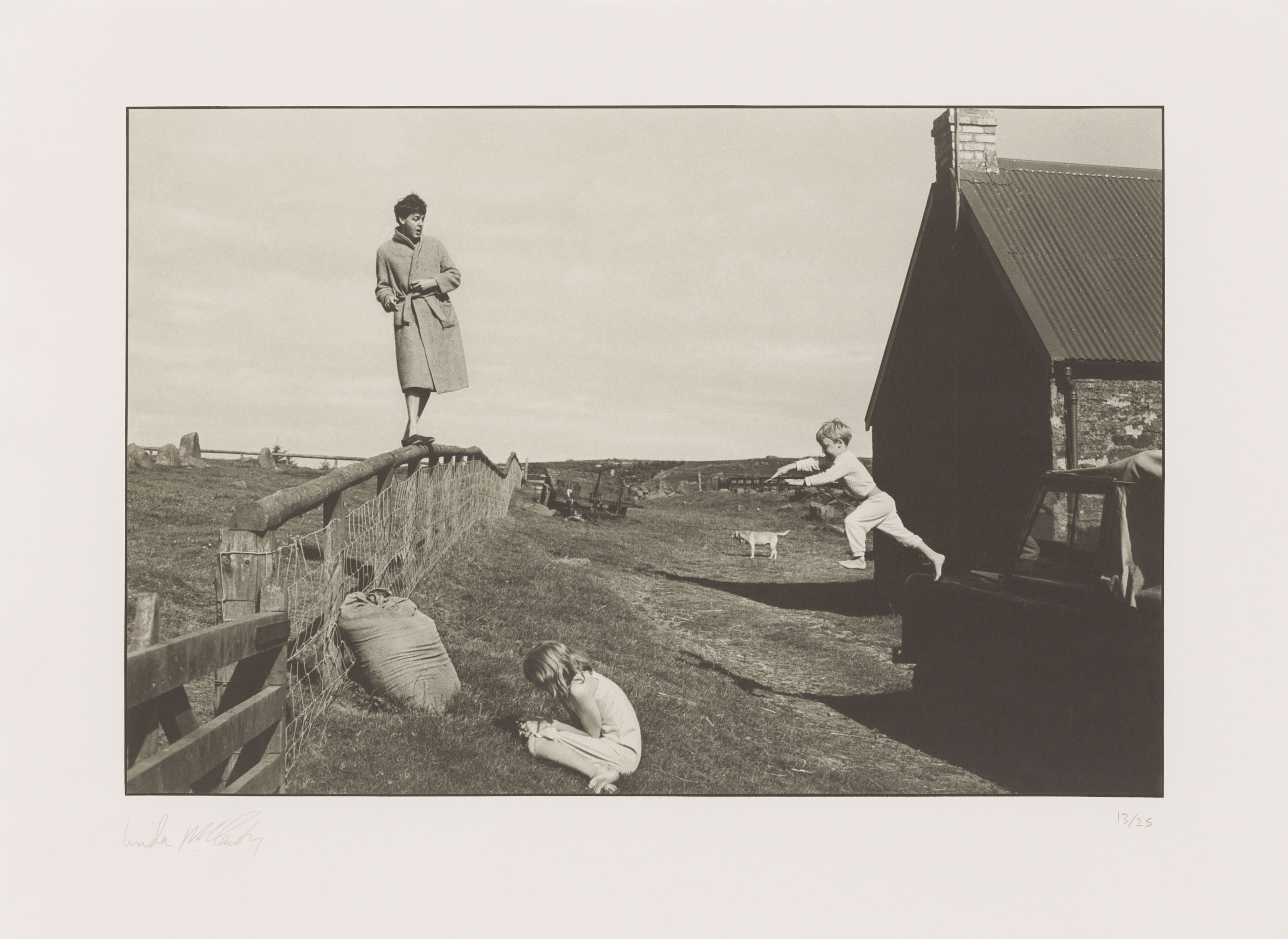 Paul, Stella and James, Scotland 1982
