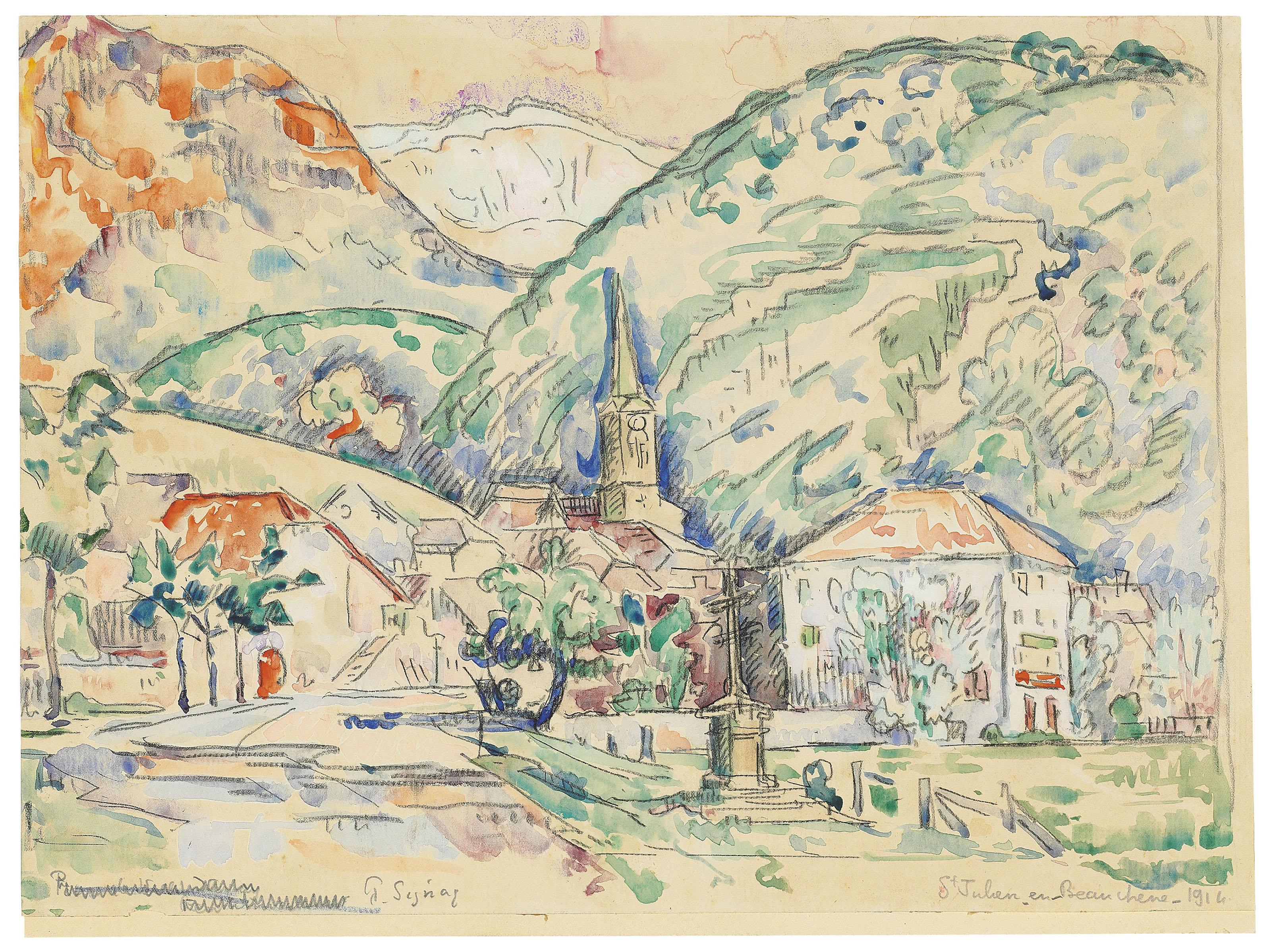 Paul Signac (French, 1863-1935
