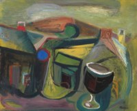 Landscape and Cup (Annunciation)