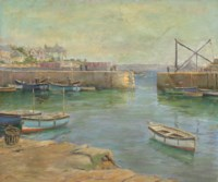 The Mousehole Harbour Cornwall