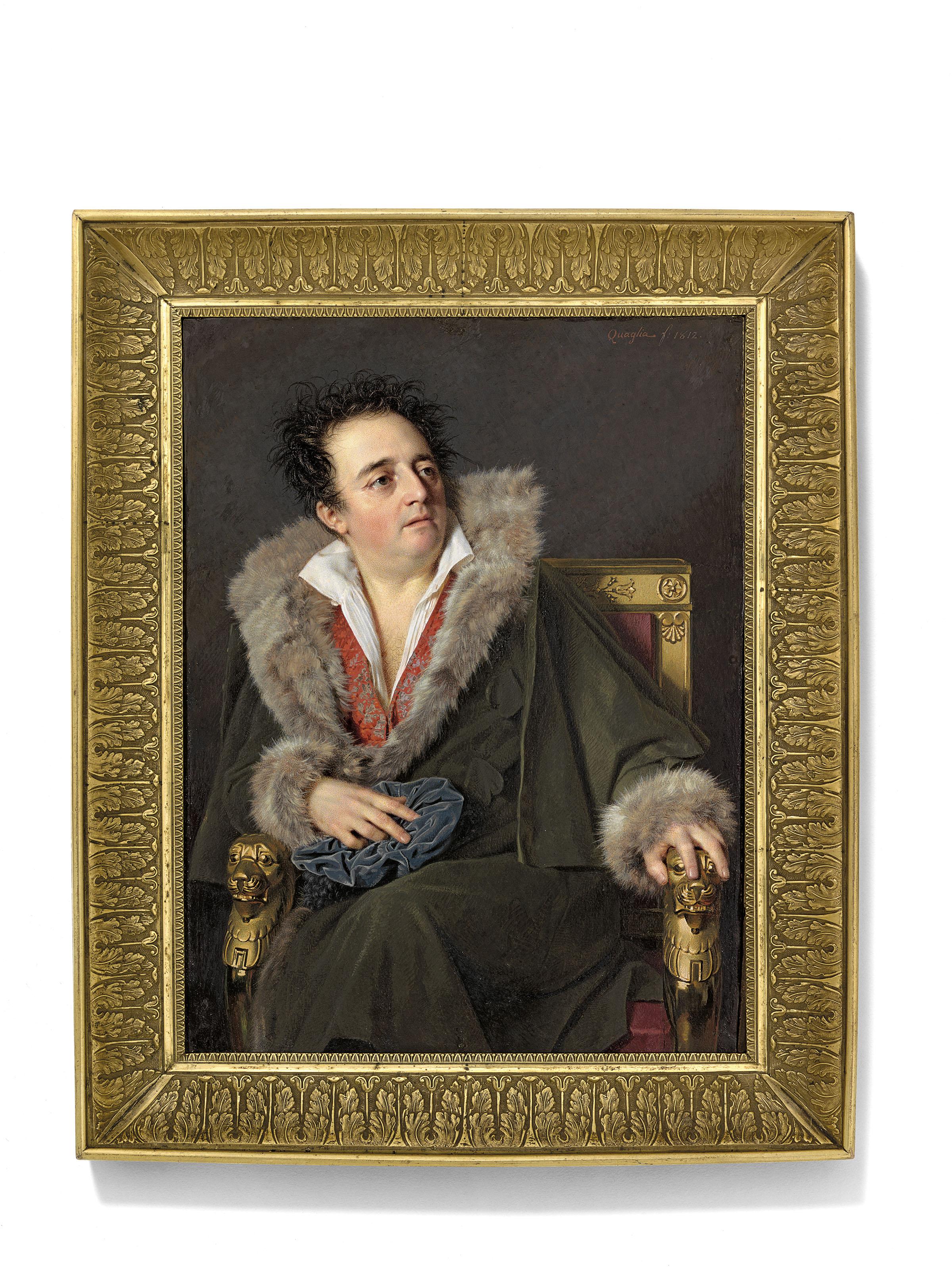 Ferdinando Quaglia (Italian, 1780-1853)