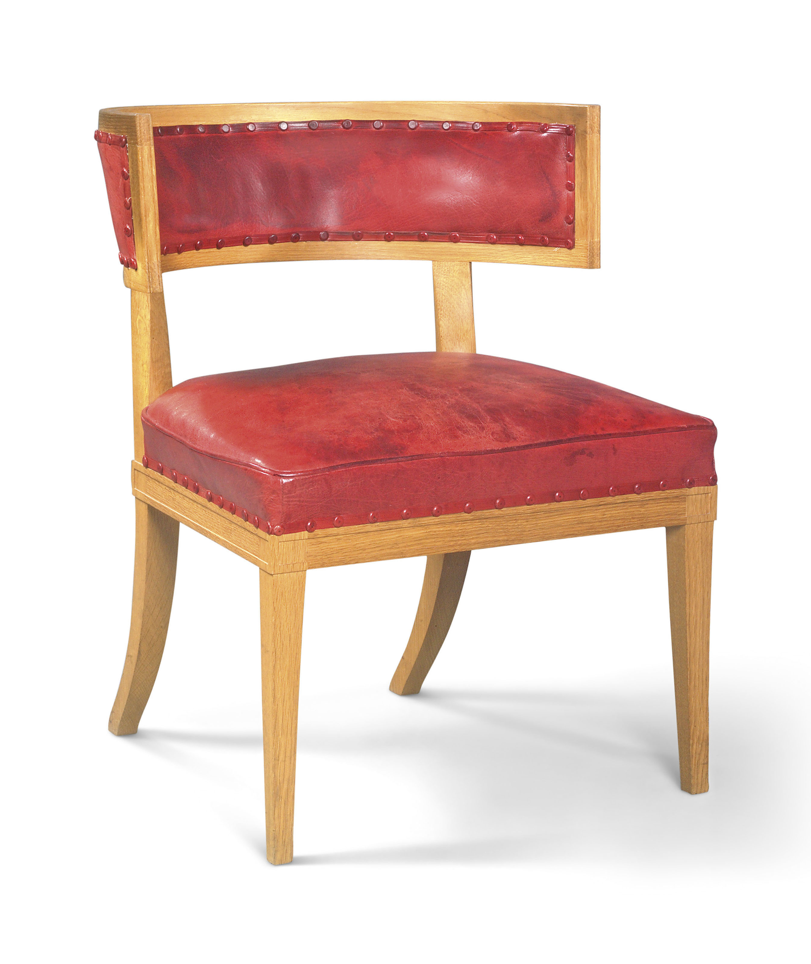 Awesome A Modern Oak Klismos Chair By Soane Britain London Unemploymentrelief Wooden Chair Designs For Living Room Unemploymentrelieforg
