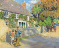 An old Cornish manor