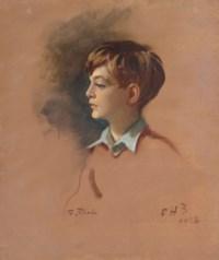 Portrait of Mark Birley (1930-2007), as a boy
